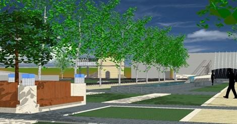 Riqualificazione Piazza Ing. M. Mancini