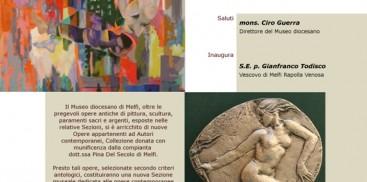 WEB_Mostra Collezione Pina Del Secolo_Locandina Invito
