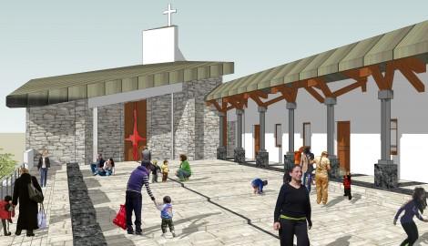 Complesso parrocchiale | Immacolata Concezione | Monticchio Sgarroni | Rionero | PZ