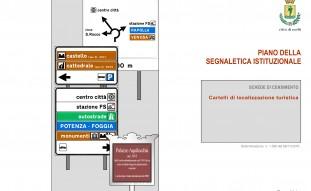 Piano della Segnaletica Istituzionale e Piano della Segnaletica Pubblicitaria e Commerciale